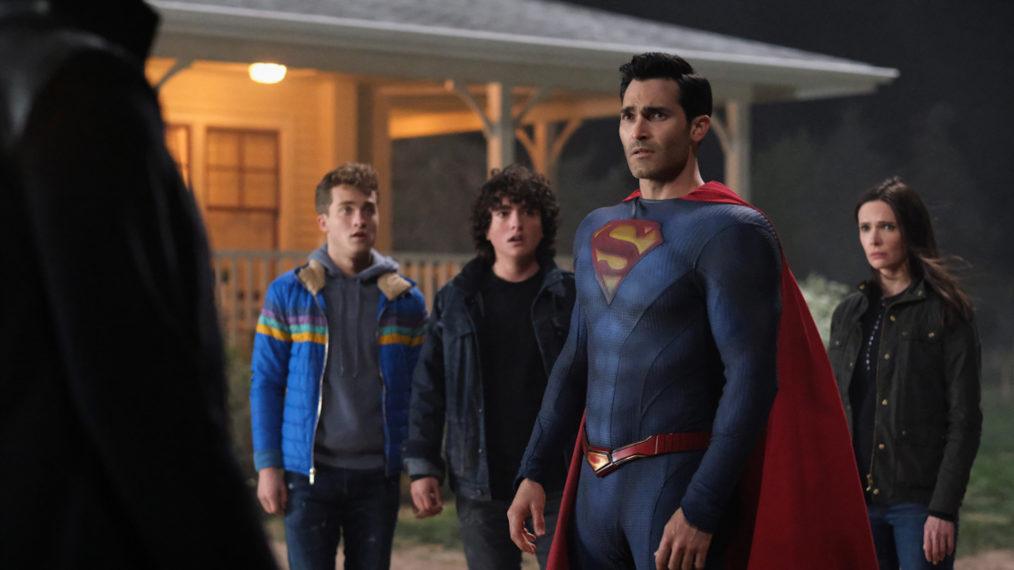 'Superman & Lois' Stars Jordan Elsass, Alexander Garfin, Tyler Hoechlin, and Elizabeth Tulloch