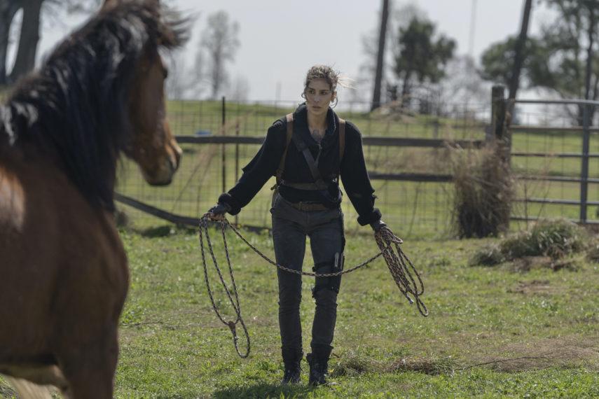 Nadia Hilker as Magna - The Walking Dead _ Season 11, Episode 3