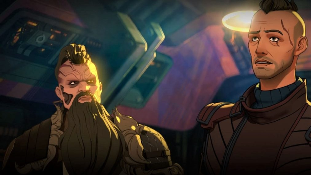 Marvel's What If...? Taserface and Kraglin