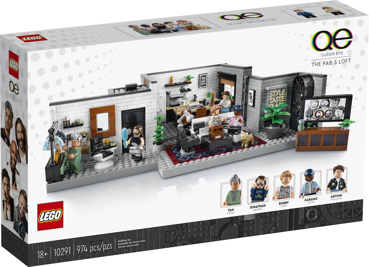 LEGO + Queer Eye