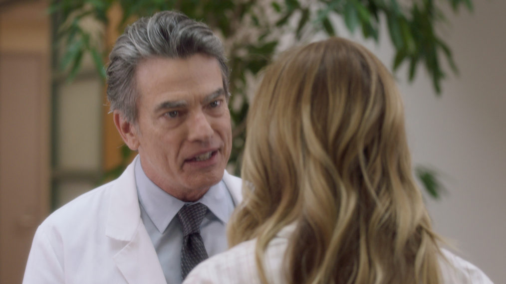 Peter Gallagher on Grey's Anatomy