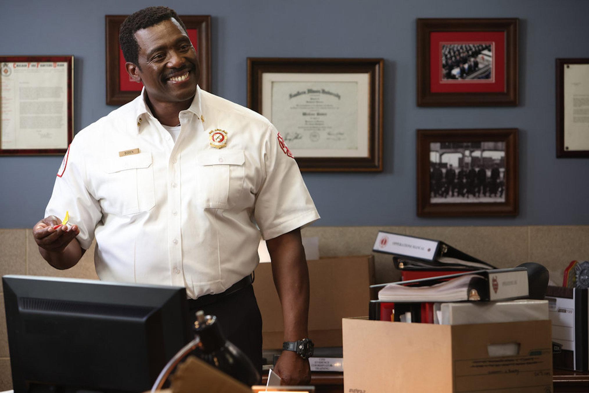 Eamonn Walker as Wallace Boden in Chicago Fire