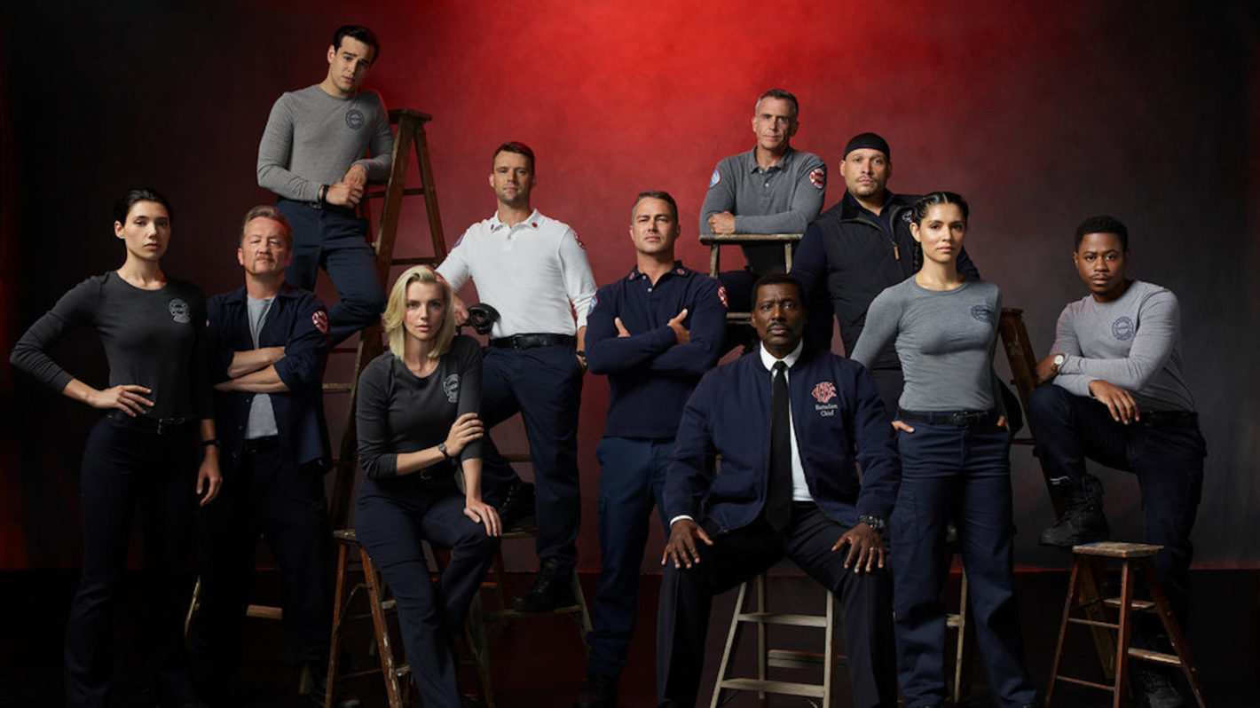The Cast of Chicago Fire Season 10