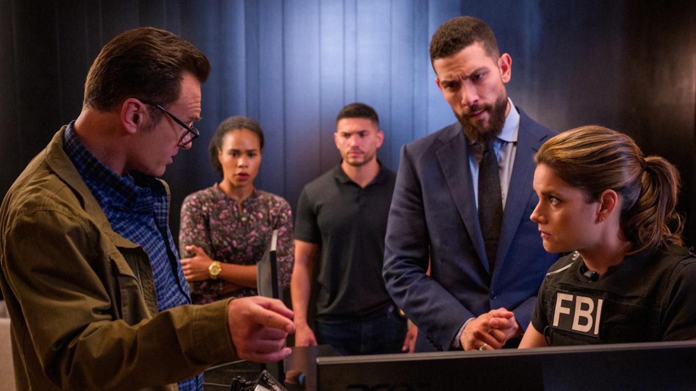 Julian McMahon, Zeek Zaki, Missy Peregrym in 'FBI: Most Wanted'