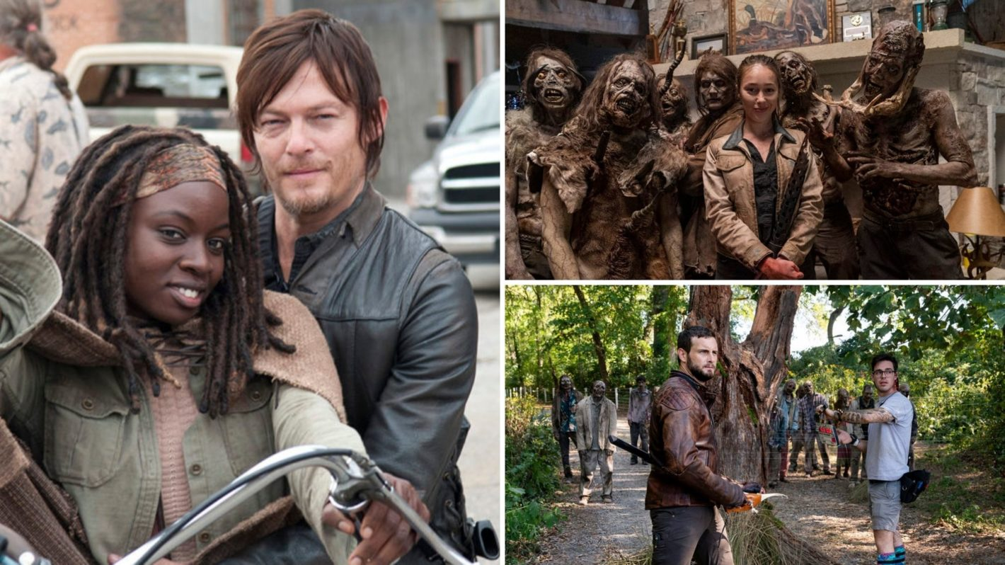 Behind the Scenes with The Walking Dead, Fear, World Beyond Casts