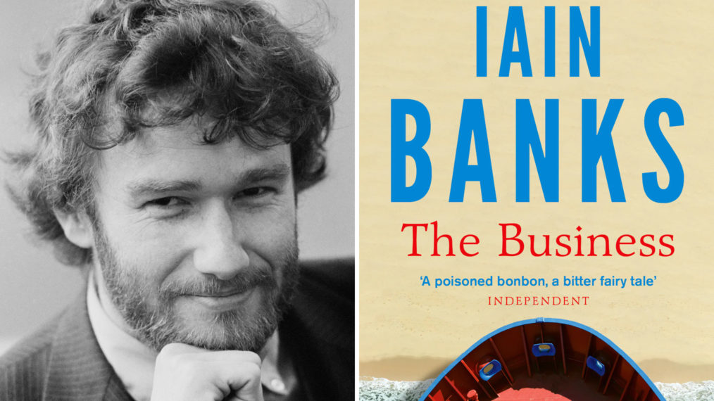 Iain Banks and The Business Cover