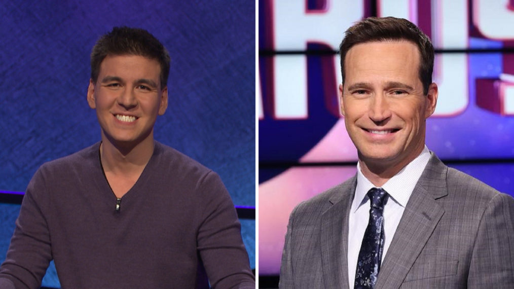 James Holzhauer and Mike Richards Jeopardy!