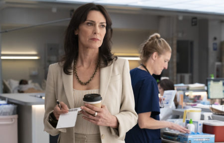 Michelle Forbes as Veronica in New Amsterdam