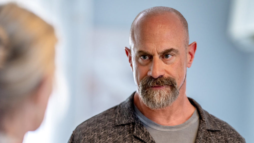 Christopher Meloni as Detective Elliot Stabler in Law & Order Organized Crime