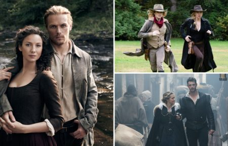 Outlander, DC's Legends of Tomorrow, A Discovery of Witches