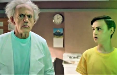 Rick and Morty, Christopher Lloyd and Jaeden Martell
