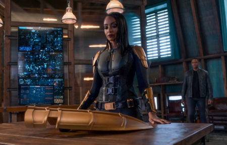 Azie Tesfai as Kelly Olsen Guardian in Supergirl
