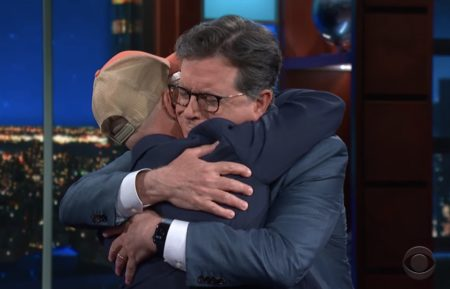 'The Late Show with Stephen Colbert,' Stephen Colbert, Steve Burns from 'Blue's Clues'