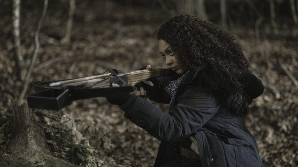 Aliyah Royale as Iris - The Walking Dead: World Beyond Season 2, Episode 1