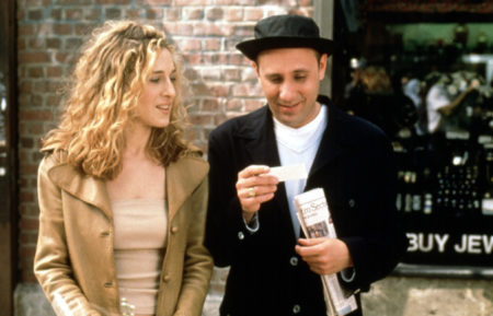 Sex and the City stars Sarah Jessica Parker and Willie Garson