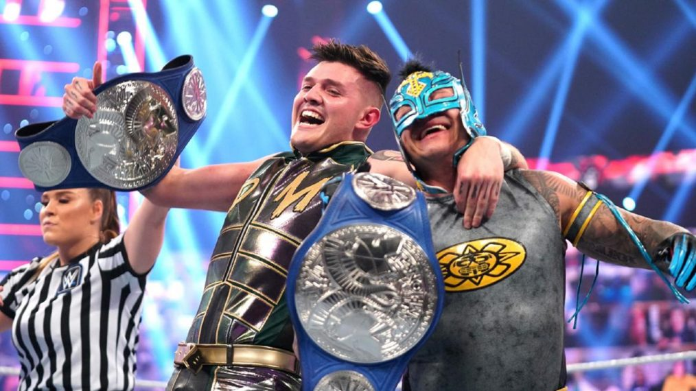 Rey Mysterio Wants to Win WWE Tag Titles with His Son Dominik on 'Raw'