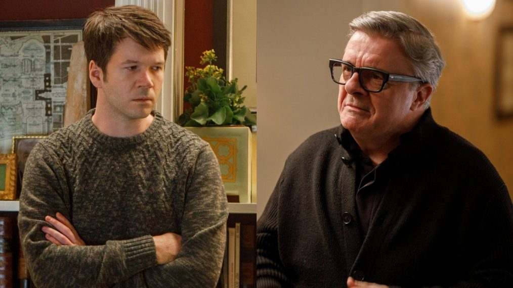 'Only Murders in the Building,' Theory, James Caverly as Theo, Nathan Lane as Teddy