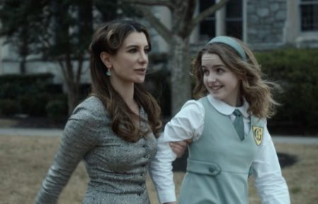 Miss Genevieve and Veronica in Just Beyond