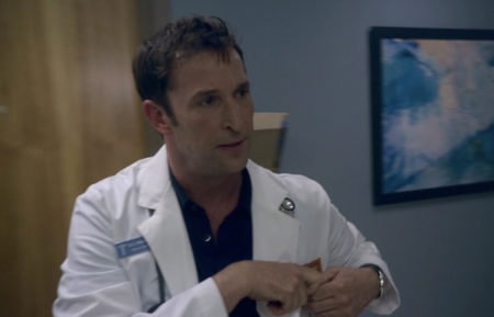 Noah Wyle as Harry in Leverage Redemption