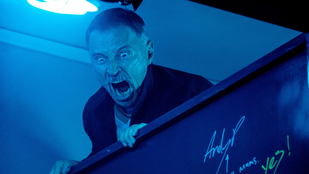 Robert Carlyle in T2 Trainspotting