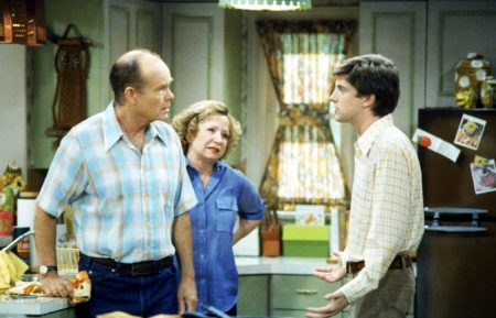 That '70s Show Kurtwood Smith, Debra Jo Rupp, and Topher Grace