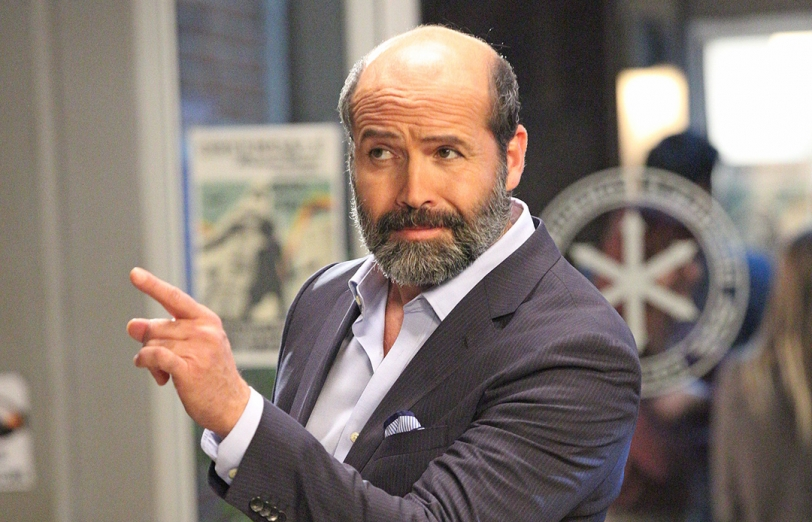 billy zane and his thick beard to guest star on community tv insider