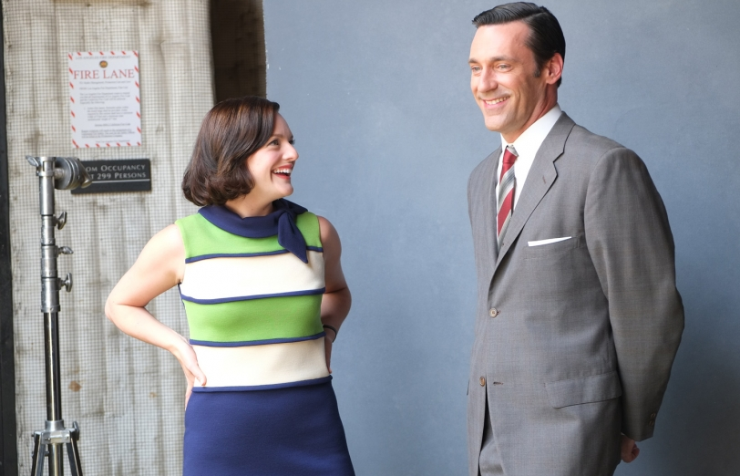 relationship between don draper and peggy olson